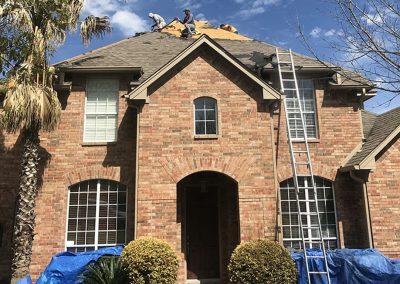 North Houston Roofing Job